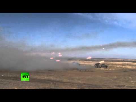 Indian & Russian Army Bombing Pakistan
