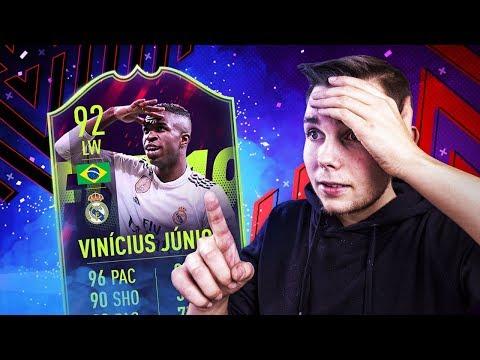 Niesamowity DRAFT z VINICIUSEM! - FIFA 19 Ultimate Team [#72]
