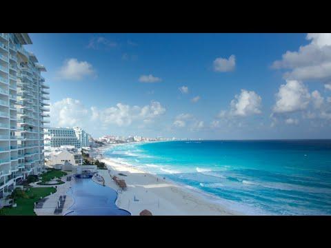 Zona Hotelera, Cancun - Mexico Timelapse