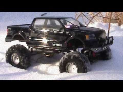 rc scale ford 4x4 truck crawler snow run youtube. Black Bedroom Furniture Sets. Home Design Ideas