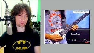 British guitarist reacts to the FASTEST guitarist in the world!