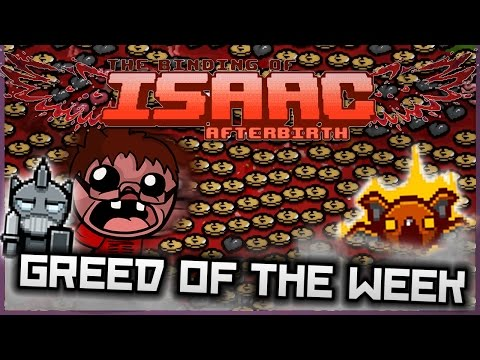 The Binding of Isaac: Afterbirth - Greed of the Week: SEA OF MONEY!