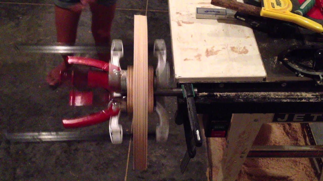 homemade bandsaw wheels youtube