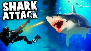 Underwater BATTLES and SHARK ATTACKS! Our First Aquatic Royale WIN! (Last Tide Gameplay)