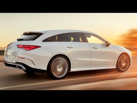 2019 Mercedes Benz CLA Shooting Brake - Wider, Longer And More Grown-Up