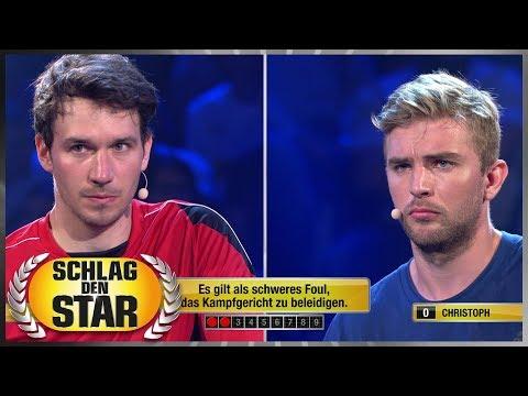 Sport-Quiz für Spitzensportler - Schlag den Star