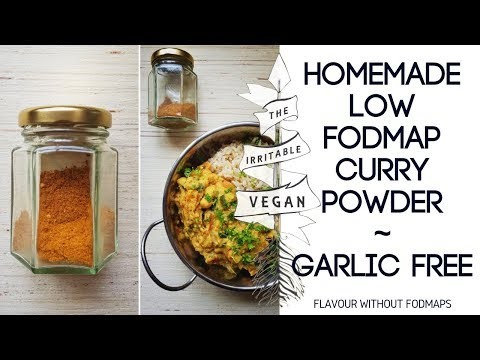 Homemade Low FODMAP Curry Powder / Flavour Without FODMAPs / Onion and Garlic Free Curry Powder
