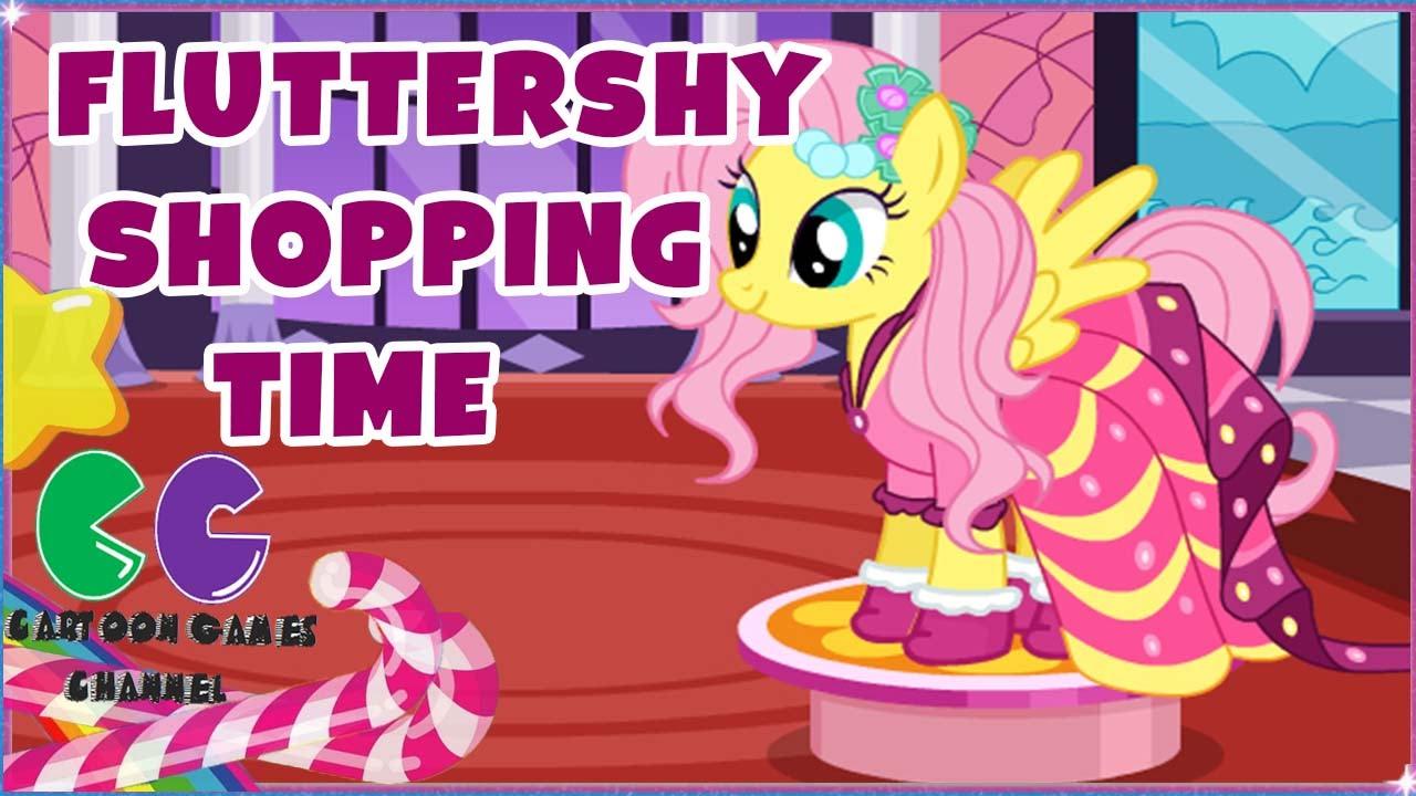 My Little Pony De compras: Fluttershy potro de vestir - YouTube