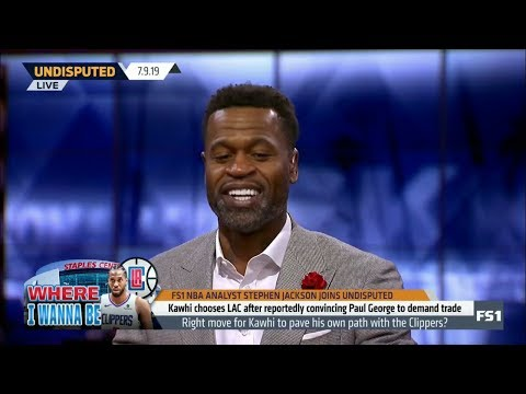 UNDISPUTED | Stephen Jackson DEBATE: Right move for Kawhi to pave own path with George's Clippers?