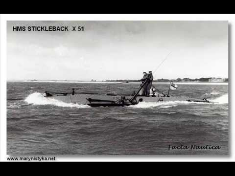 1954 HMS STICKLEBACK midget submarine royal navy history