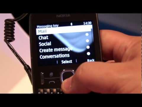 Nokia Asha 200, hands-on (EN)