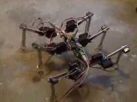 how to make a hexapod
