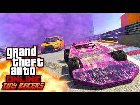 GTA 5 Online - NEW TINY RACERS DLC!!