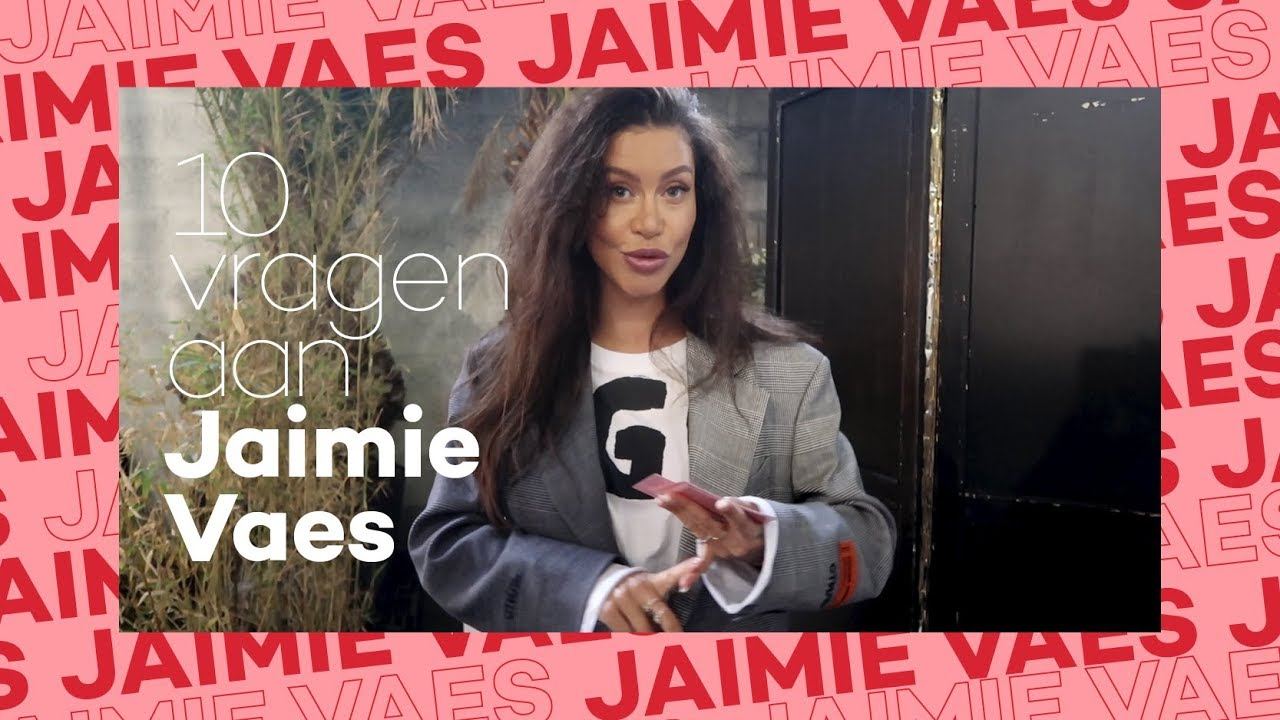 Jaimie Vaes Beantwoord Vragen Van Glamour Influencerblog Nl