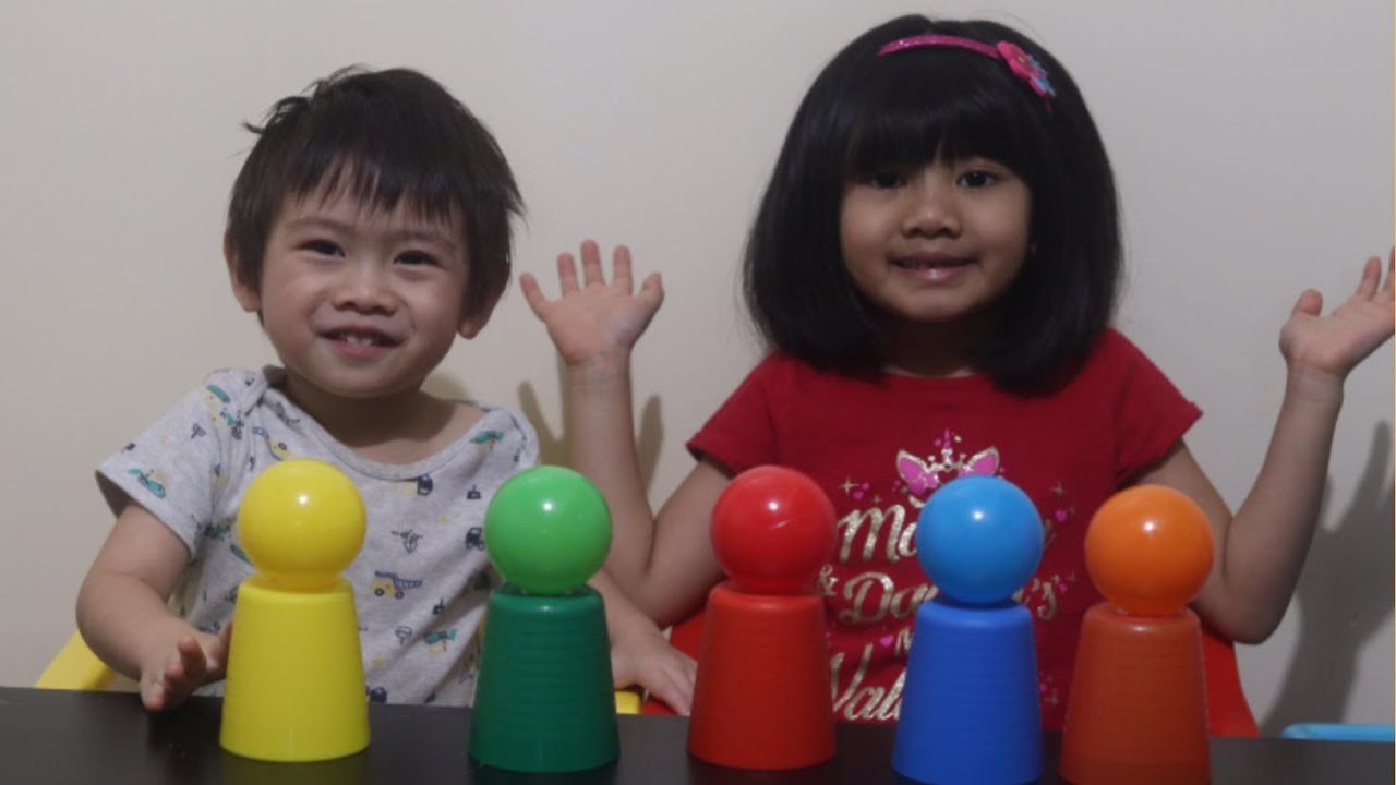 Ball Pit Kid Song for Learning Colors  with Sophia Bron