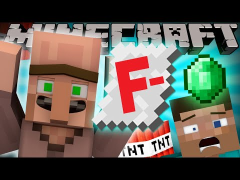 Thumbnail: If Villagers went to School - Minecraft