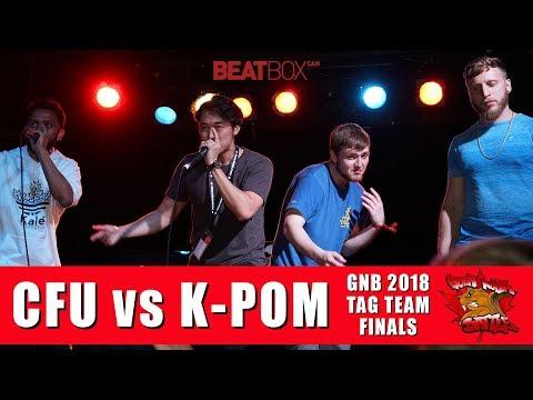 KPom vs CFU | GNB 2018 | Tag Team - Finals