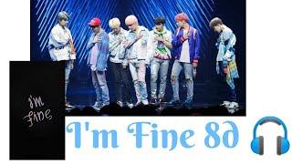 Download Lagu BTS (방탄소년단) ~ I'M FINE (stage mix)  8D FMV 🎧 mp3