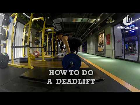 How To Do A Deadlift?
