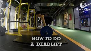 How to do a Deadlift ?