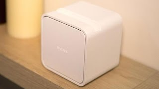 Sony Portable Short Throw Projector turns any surface into a touchscreen TV