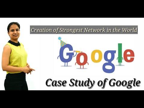 Google Case Study/Strategic Cost Management & Performance Evaluation