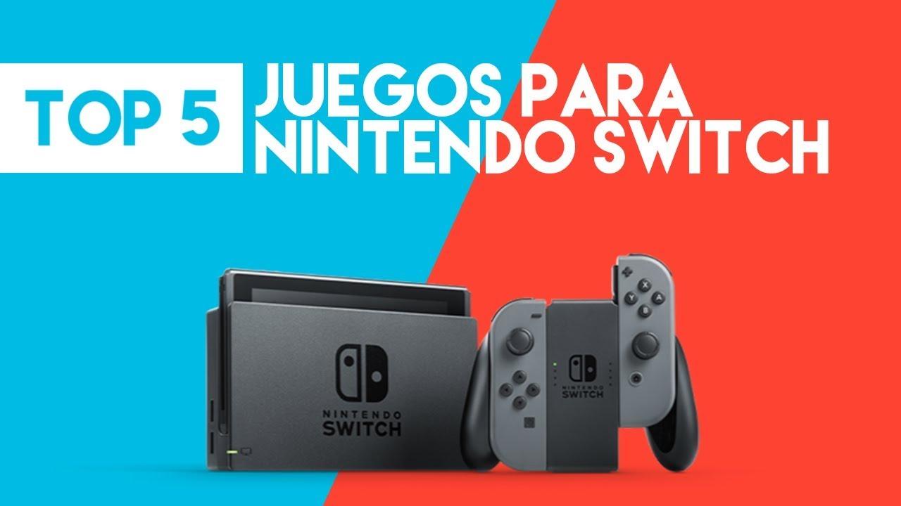 Top 5 Mejores Juegos De Nintendo Switch 2017 2018 Youtube