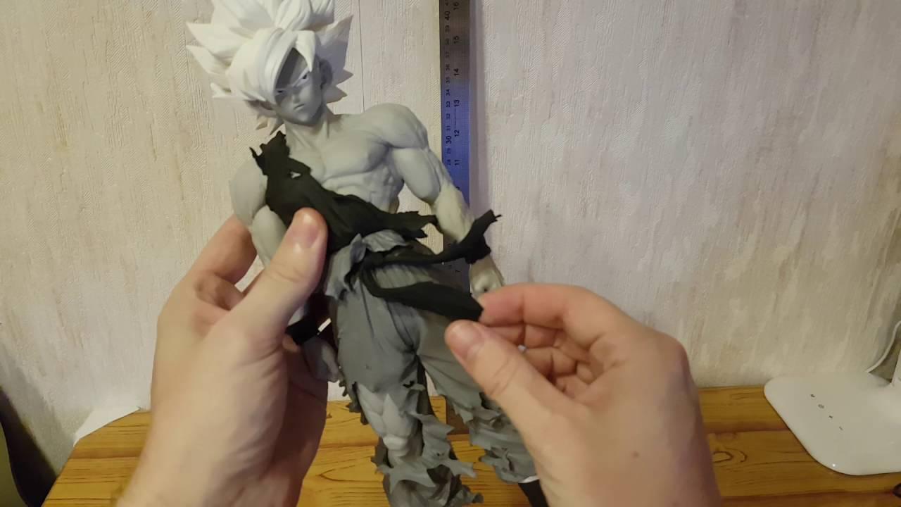 Dragon Ball Z Figurine Noire Et Blanche Son Goku