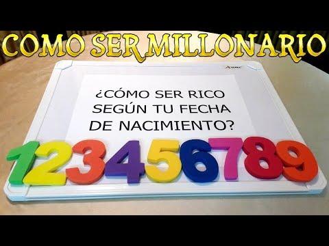 COMO SER RICO SEG�N TU FECHA DE NACIMIENTO COMO SER MILLONARIO
