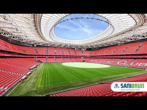 Sanibrun At San Mames Athletic Club Bilbao Stadium