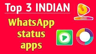 Top 3 best indian WhatsApp status app | Indian WhatsApp status app | Indian app for WhatsApp status