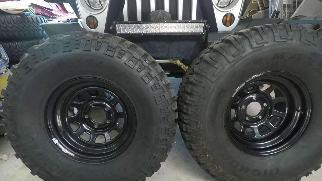 Maxxis Bighorn 762 vs Mickey Thompson Baja MTZ P3 Tyre ...
