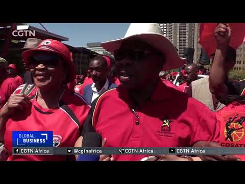 COSATU leads anti-corruption demonstrations across South Africa
