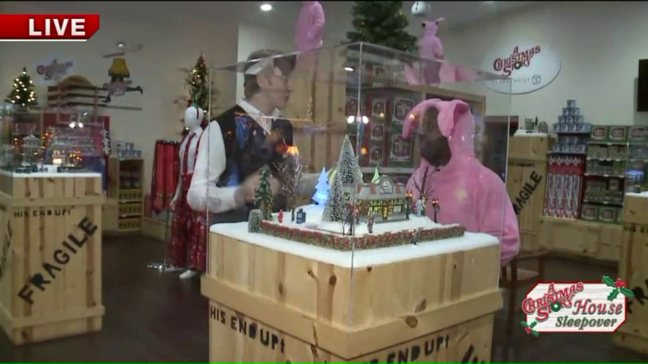 A Christmas Story Gift Shop Tour With Kenny Part #1