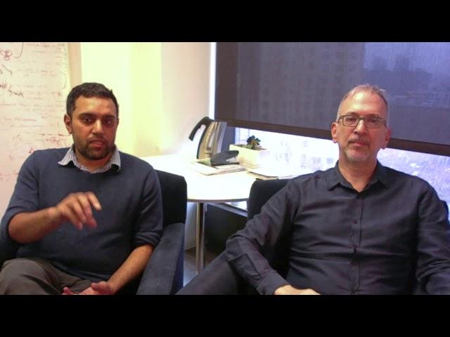 Joseph and Nancy DiSabato Scholar: Ross Cagan and Arvin Dar