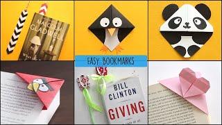 26 Amazing Creative DIY Bookmarks Ideas Easy Paper Crafts Design Ideas