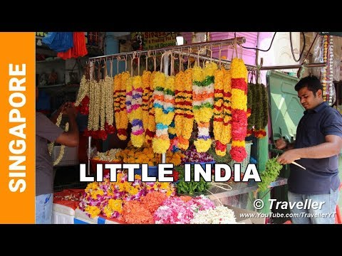 Little India in Singapore - Singapore attractions - Top things to do in Singapore - Travel video
