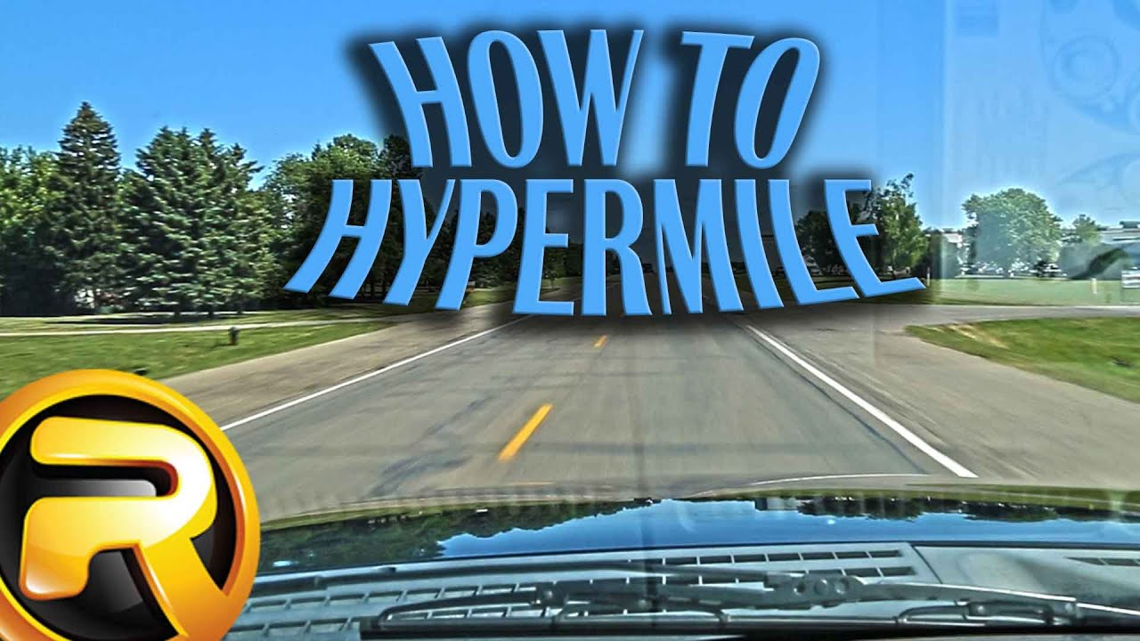 How to Hypermiling your Car or Truck - YouTube