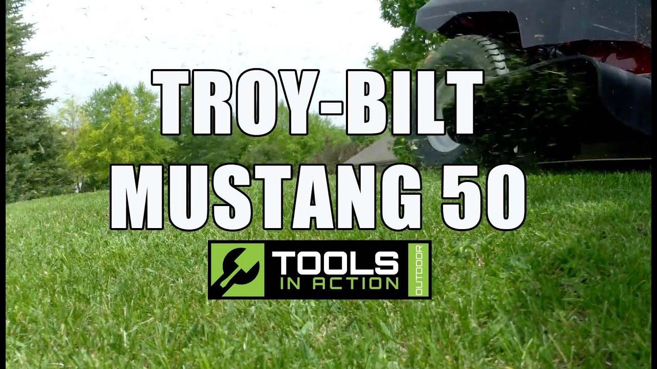 troy-bilt mustang 50 zero turn mower 20 hour update - youtube
