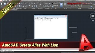 Autocad Tutorial How To Create Your Own Alias Command With Lisp