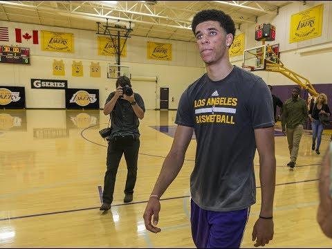 5 Takeaways From Lonzo Ball 2nd Workout W/ La Lakers