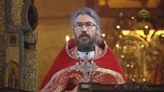 Божественная литургия 1 мая 2020 г., Сретенский мужской монастырь, г. Москва