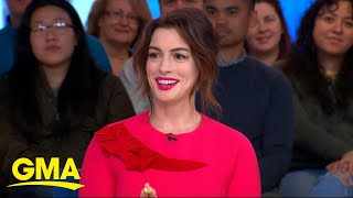 Anne Hathaway on 'The Hustle' l GMA