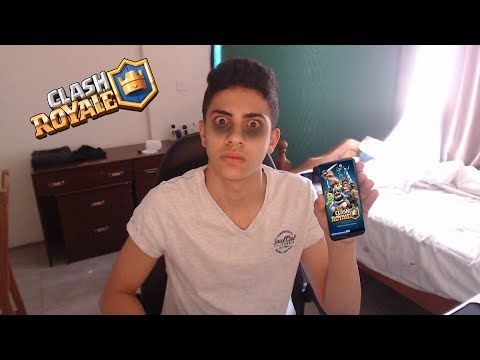 PLAYING CLASH ROYALE FOR 10 HOURS