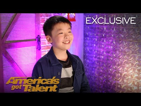 Jeffrey Li Talks On Simon Cowell's Offer To Buy Him A Puppy - America's Got Talent 2018