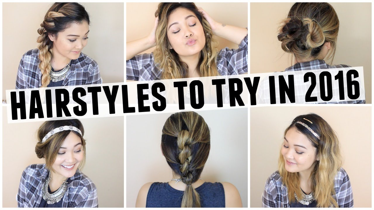 HAIRSTYLES TO TRY IN 2016  JaaackJack  YouTube