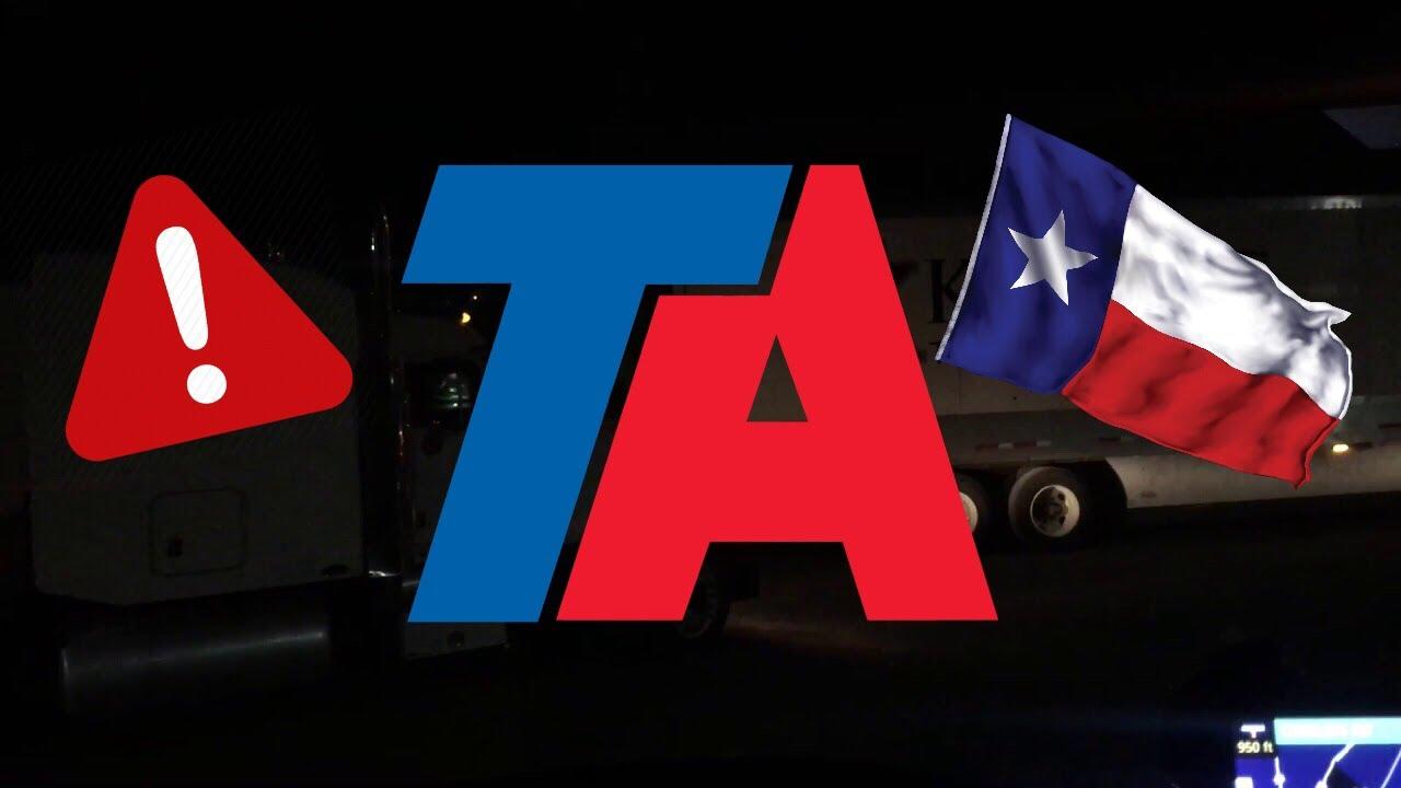 Ta truck stop new braunfels texas