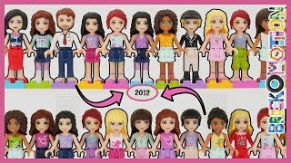 All 2012 LEGO Friends Minidolls