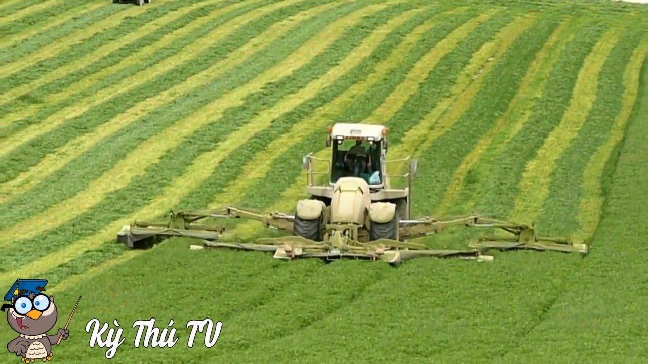 Xem máy móc, thiết bị nông nghiệp nước ngoài hiện đại thế nào   Kỳ Thú TV