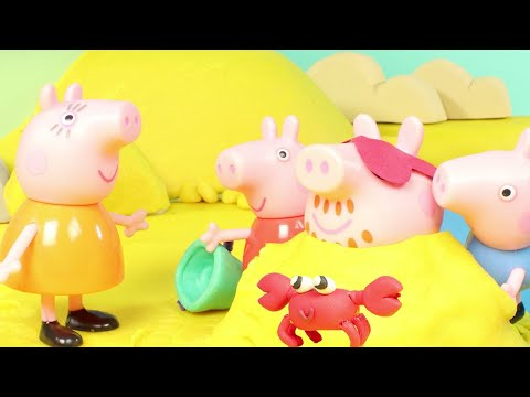 Peppa Pig Official Channel | Barbecue at the Beach with Peppa Pig